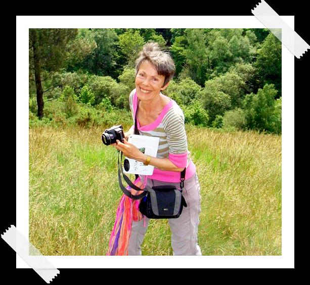 Monique Poupart, jeune et randonnée en Bretagne